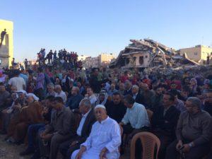 Romok közé terítették a vörös szőnyeget a gázai filmfesztiválon