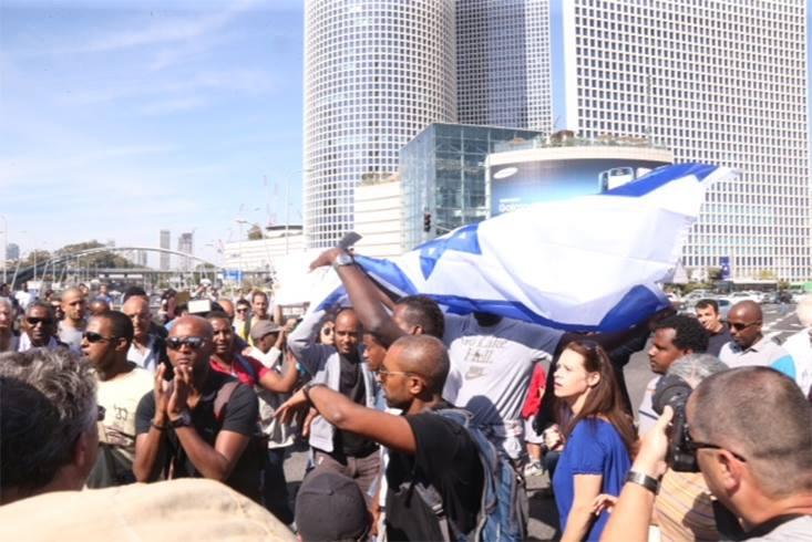 Ismét elszabadultak az indulatok az etióp zsidók tel-avivi tüntetésén