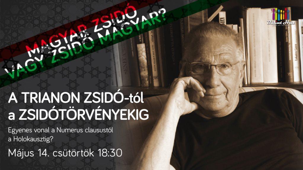 Ungvári Tamás: magyar zsidó vagy zsidó magyar?