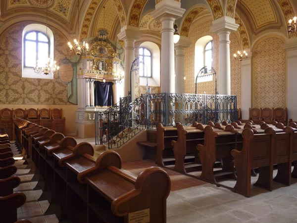 Mádi templombelső
