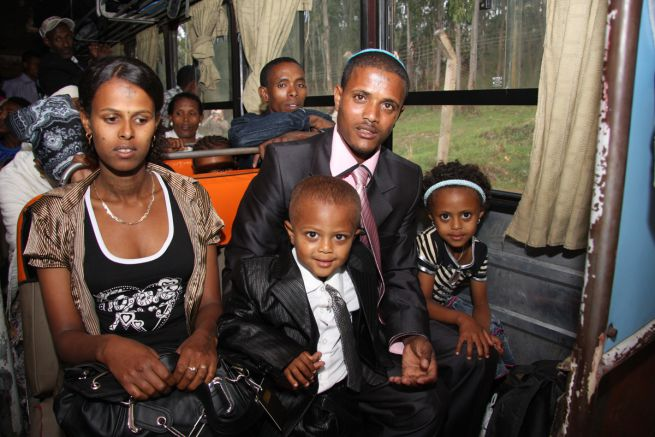 izraeli etióp család