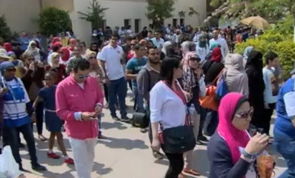Muszlimok, keresztények és a zsidók együtt ünnepeltek Kairóban