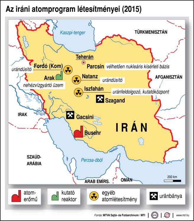 Az iráni atomprogram