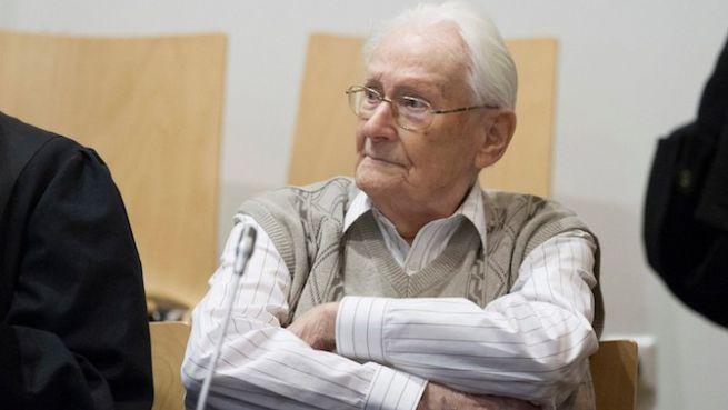 Oskar Gröning a bíróságon