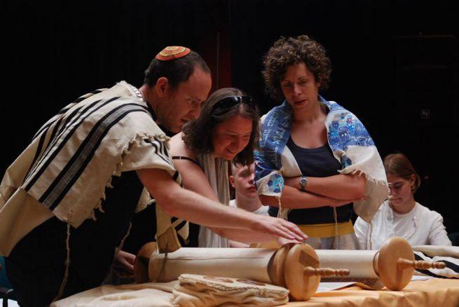 LMBTQ-barát zsidó istentisztelet/ Fotó: Csoszó Gabriella/FreeDoc