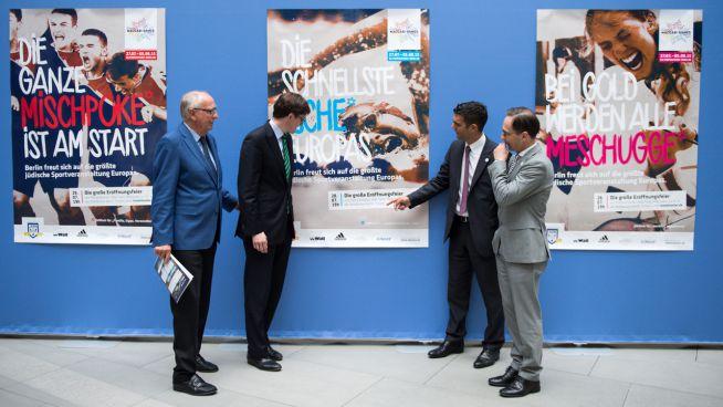 A 2015-ös berlini Európai Maccabi Játékok plakátjai