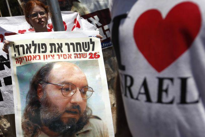 Tüntetés Jonathan Pollard szabadon bocsátásáért