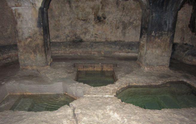 Középkori mikve Szicíliában