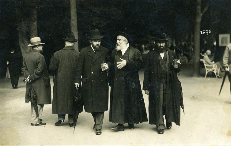 A haszid rabbi nyaralása