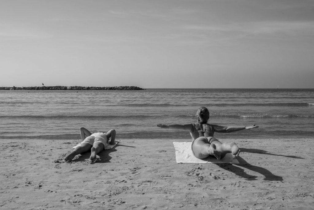 A csendes határ – Csodás képek Tel-Aviv tengerpartjáról