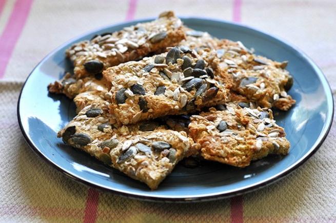 A mi izraeli konyhánk: Csicseriborsó, kukorica és gabona keksz