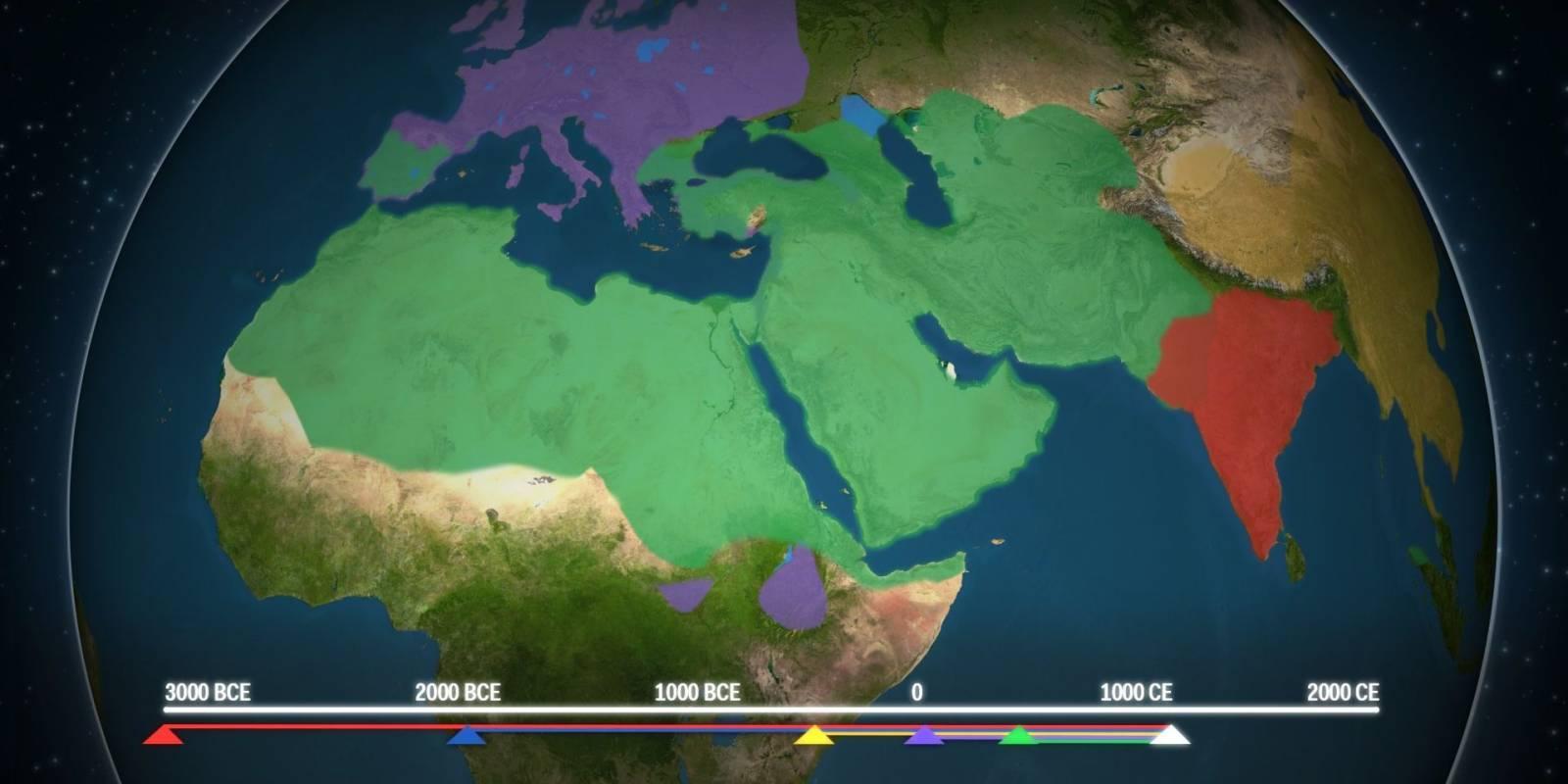 Így terjedtek el a világ nagy vallásai