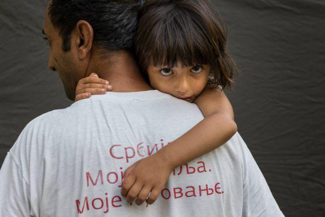 Menekültek: Masszo és Ahmed Afganisztánból /Fotó: Déri Miklós