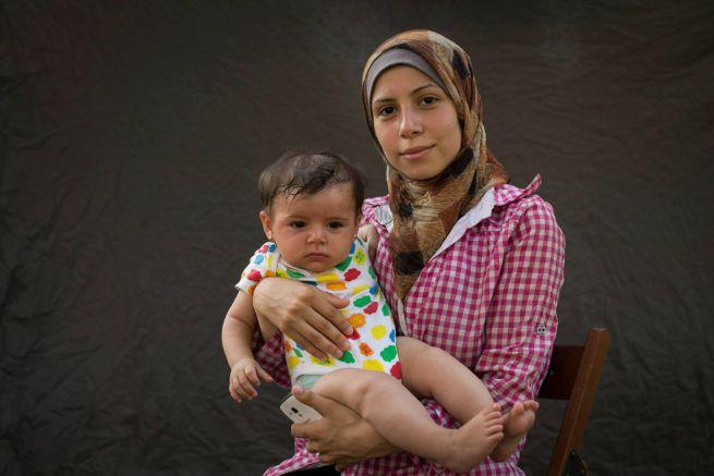 Menekültek /Fotó: Déri Miklós