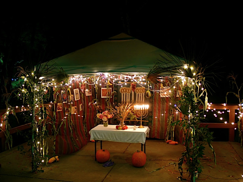 Szukoti sátor díszítés a Bálint Házban!