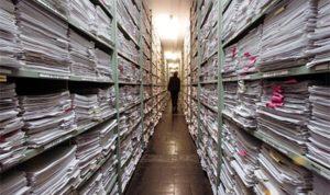 61 kilogrammnyi dokumentum került elő a vészkorszakból egy lakásfelújításnál
