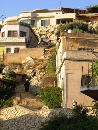 drúz falu a Golán-fennsíkon