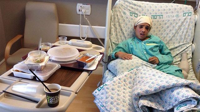 """Jól van a """"kivégzett"""" 13 éves palesztin fiú"""