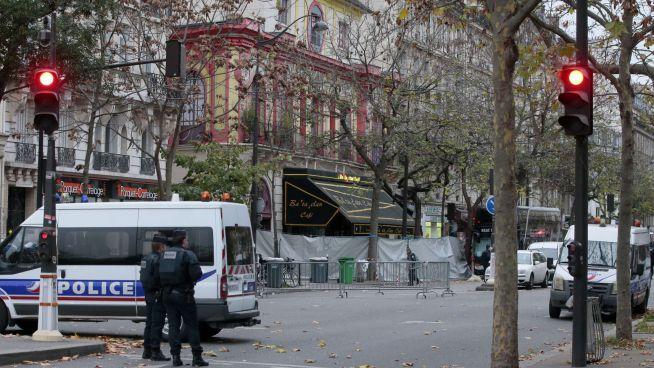 A Bataclan klub a támadás másnapján