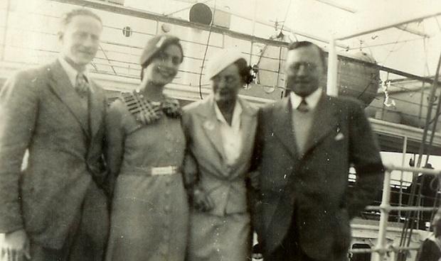 Von Mildenstein házaspár és a Tuchler házaspár