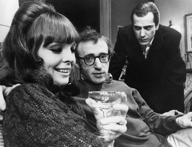 Diane Keaton, Woody Allen és Jerry Lacy a Játszd újra Sam!-ben a Broadway-en