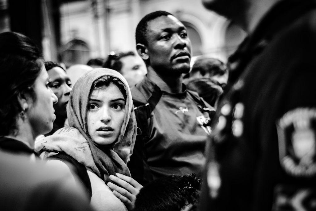 Fotókiállítás menekültekről