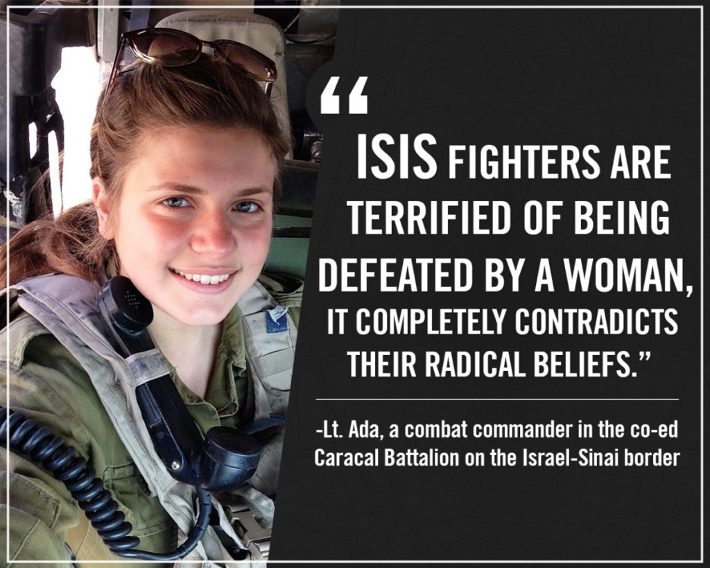 Női harcosok az ISIS ellen a Sinai-félszigeten