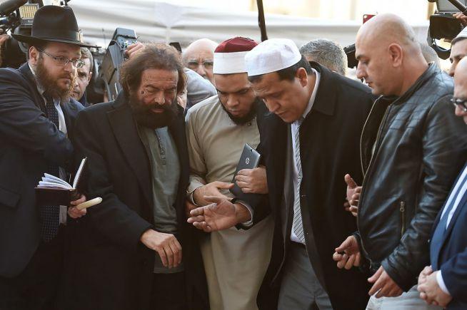 muszlim és zsidó vezetők emlékeznek együtt a terrortámadás után