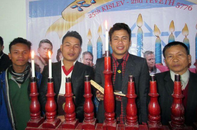 A Bné Menase közösség tagjai, Manipur, India