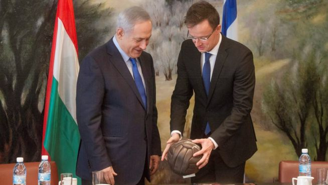 Benjamín Netanjahu és Szijjártó Péter