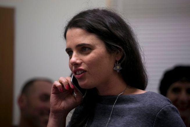 Ajelet Schaked izraeli igazságügyi miniszter