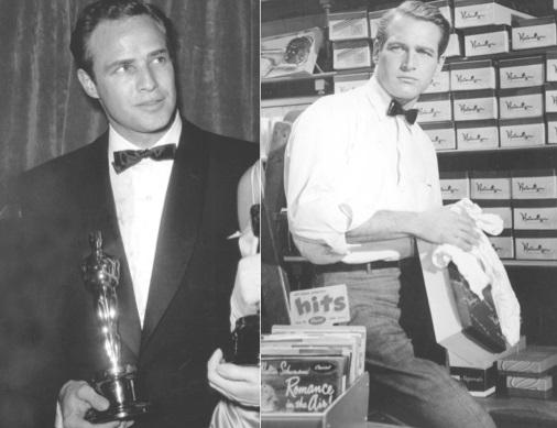 Brando és Newman