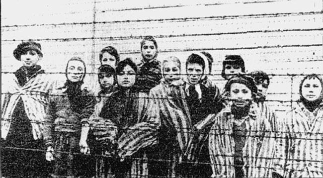Az auschwitzi gettó felszabadítása 1945 január
