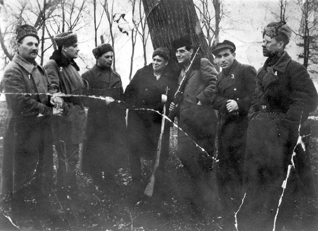 Ukrán partizánok 1943-ban