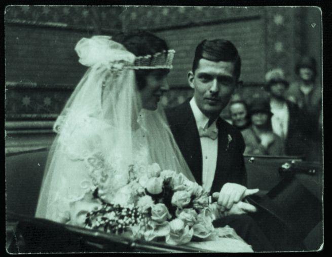 Kinszki Imre és Gárdonyi Ilona esküvője