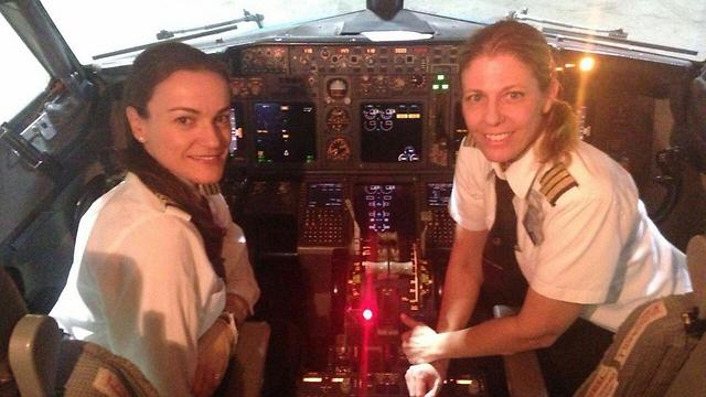 Először vezették kizárólag női pilóták az El Al egyik járatát