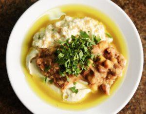 A mi izraeli konyhánk: klasszikus hummusz