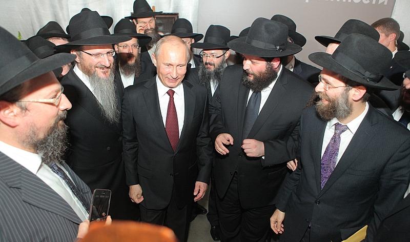 Putyin szívesen látja Oroszországban az Európából kivándorló zsidókat