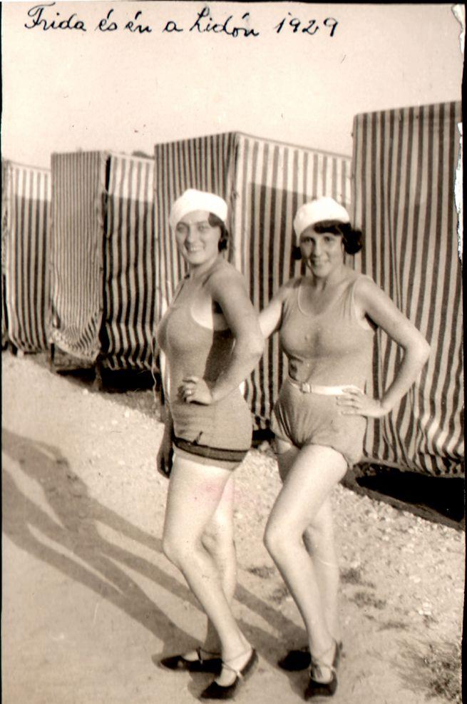 Vértes Frida (balra) és Katrína