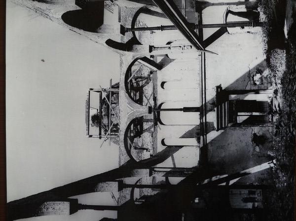 archív felvétel a régi zsinagógáról