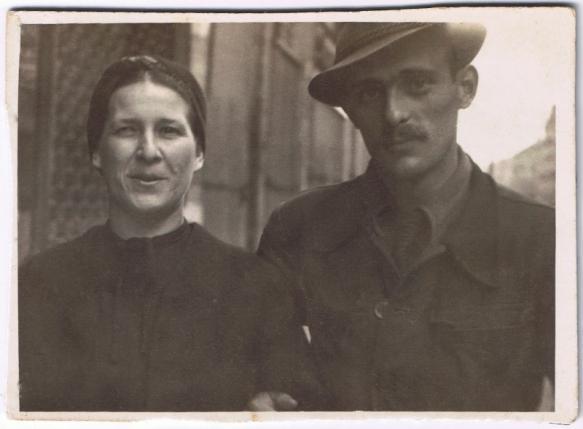 Samuel Willenberg és édesanyja