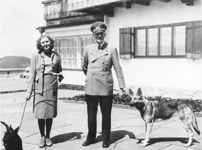 Éva Braun és Hitler