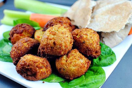 A mi izraeli konyhánk: falafel