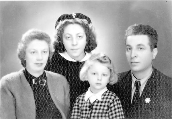 bolgár zsidó család 1943-ban