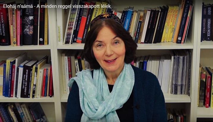 A minden reggel visszakapott lélek – Kelemen Katalin rabbi rövid előadása