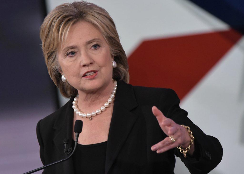 Hillary Clinton: Izrael biztonsága nem lehet tárgyalás és vita tárgya