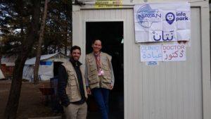 Izraeli orvosok és nővérek a szerbiai menekülttáborokban