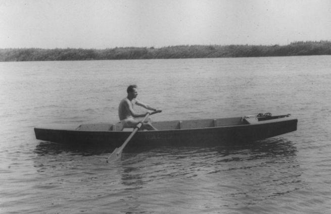 10 A ráckevei Duna-ágon 1955