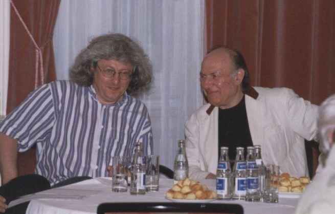 20 Esterházy Péter és Kertész Imre 1999 DIA