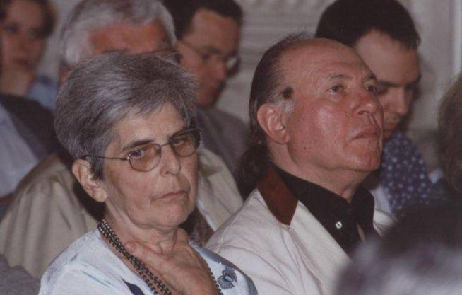 21 Orbán Júlia és Kertész Imre 2000 DIA